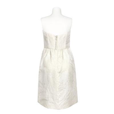 tube top jacquard dress